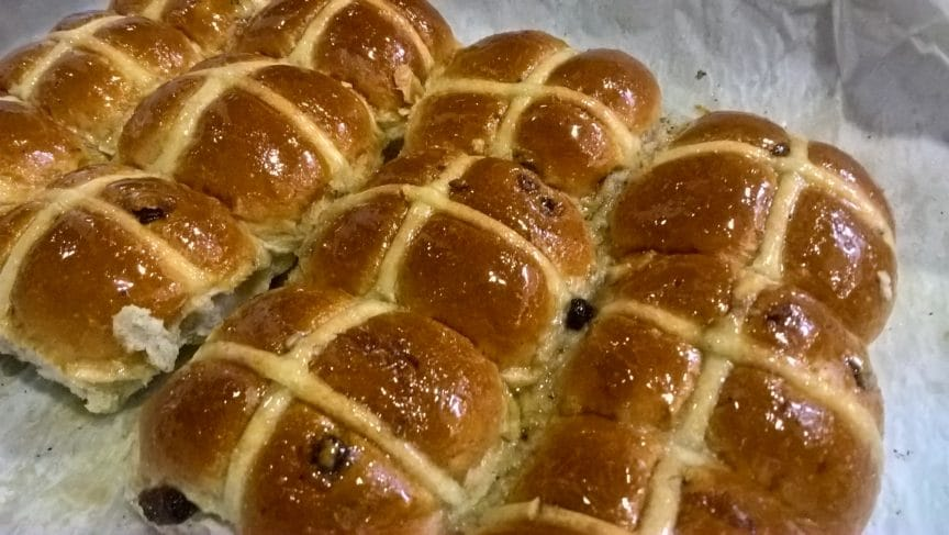 Hot Cross Buns – Baps and Bloomers