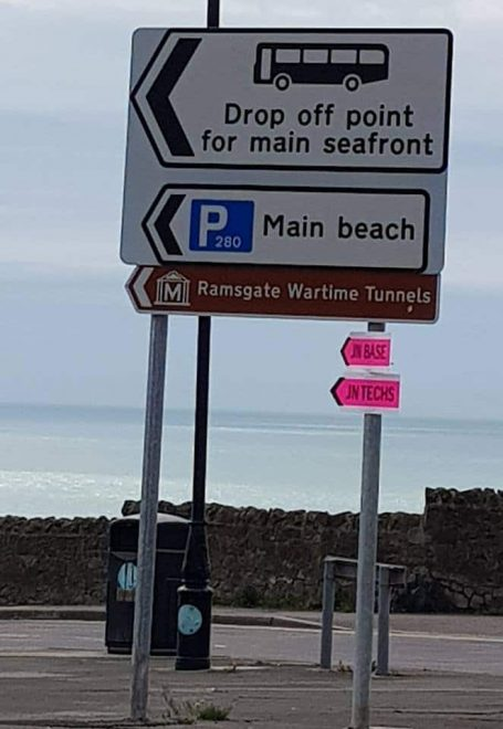 Film crews are in two Broadstairs locations today - The