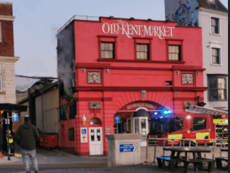 Fire at the Old Kent Market