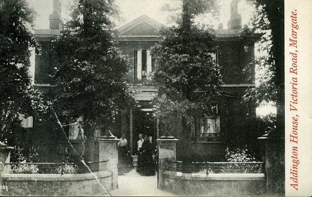 Addington House Margate post card (1)