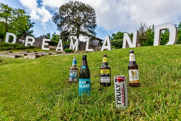 Shepherd Neame is teaming up with Dreamland Margate