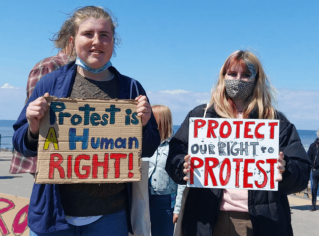 _protest is a human right