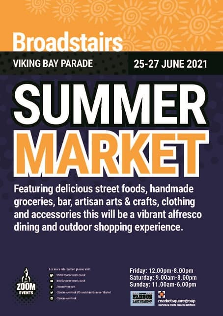 12750_ZE Broadstairs Summer Market A5 Flyer no trim